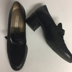 Enzo Angiolini Suede Leather Slip On Shoes Size 8M